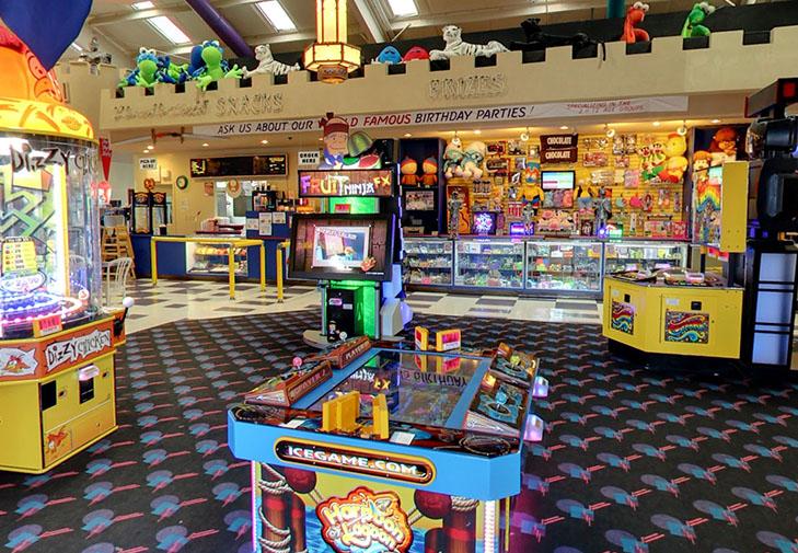 Arcade & Prize Counter