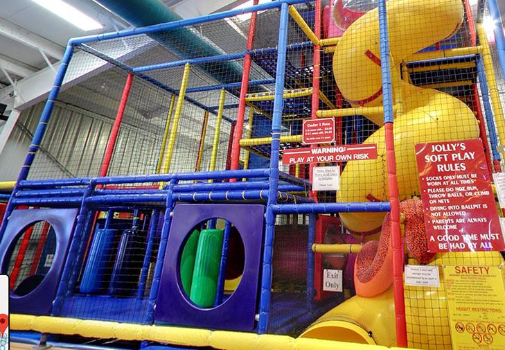 Soft Play Jungle Gym