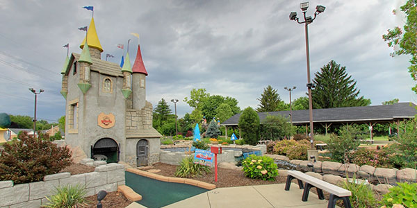 Miniature Golf Castle
