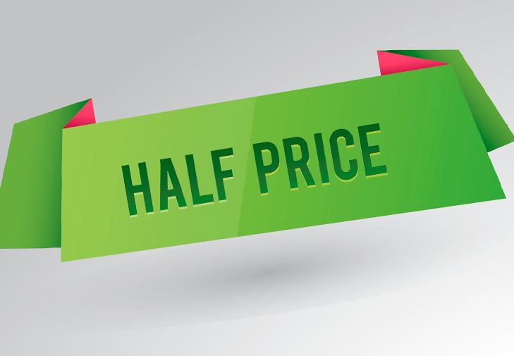 Half Price Mondays
