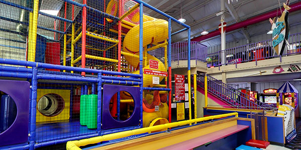 Soft Play Jungle Gym
